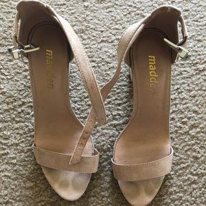 Madden Heels Blush color